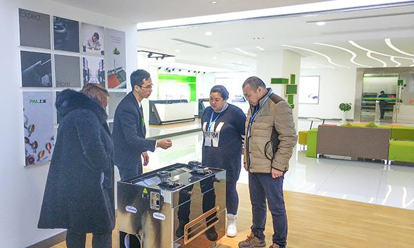 上派电器迎来安徽宿州、蚌埠客户参观考察