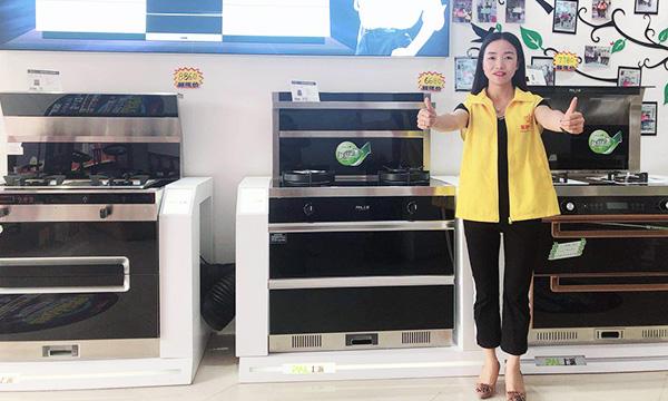 铿锵玫瑰——上派集成灶优秀经销商江西修水许总专访